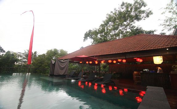Oishi Restaurant 1 di Jungle Retreat Ubud (Formerly Jungle Retreat Kupu Kupu Barong)