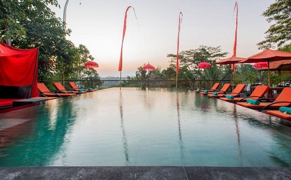 Swimming Pool di Jungle Retreat Ubud (Formerly Jungle Retreat Kupu Kupu Barong)