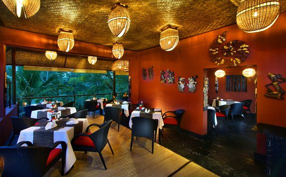 Tamiang Restaurant di Jungle Retreat Ubud (Formerly Jungle Retreat Kupu Kupu Barong)