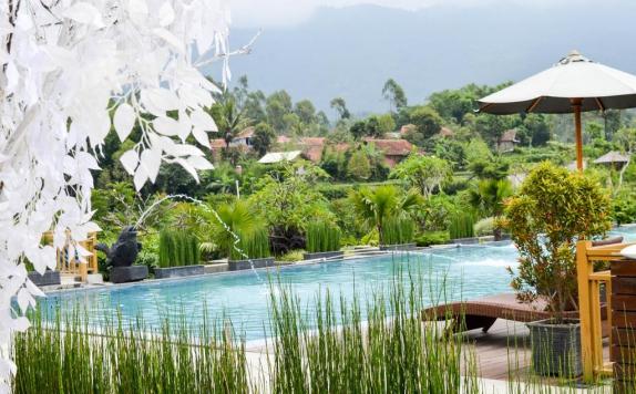 Kamojang Green Hotel Resort Di Garut 1001malam Com