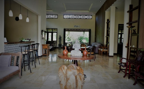 Lobby di Kendi Villas and Spa