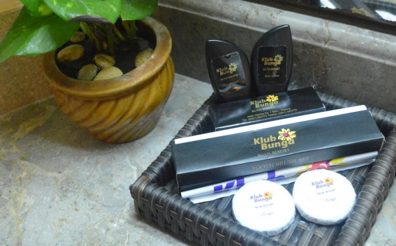 Amenities di Klub Bunga Butik Resort
