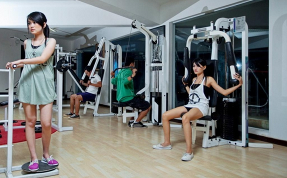 Gym di Klub Bunga Butik Resort