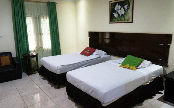 Twin Bed Room Hotel di Kuala View Beach Hotel