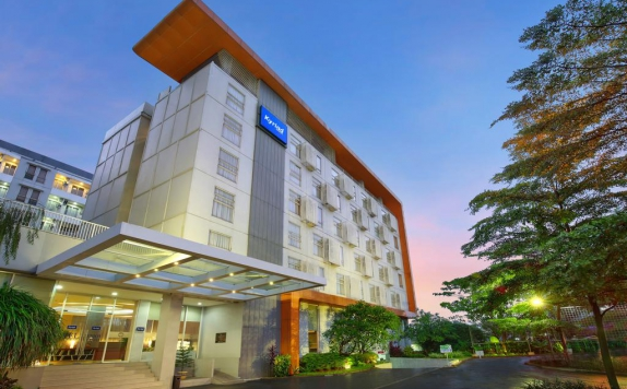 Front View di Kyriad Hotel Airport Jakarta