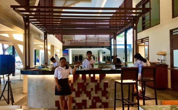 Interior di Laguna Gili Beach Resort