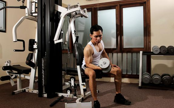 gym di Laras Asri Resort & Spa