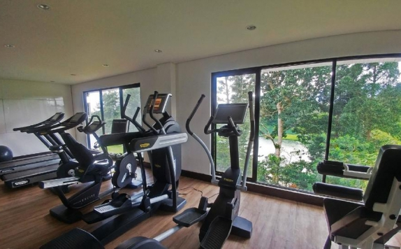 Gym di Lido Lakes Resort & Conference