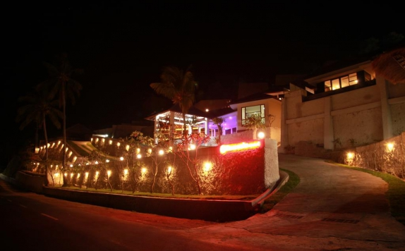 Entrance di Lima Satu Resort by BAIO