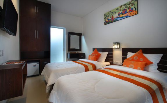 Guest Room Twin Bed di Lotus Tirta