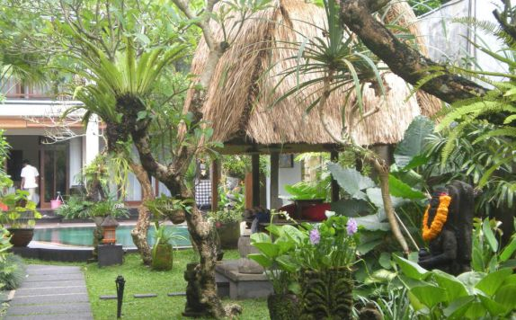 Eksterior di Lumbung Sari Cottages & Spa