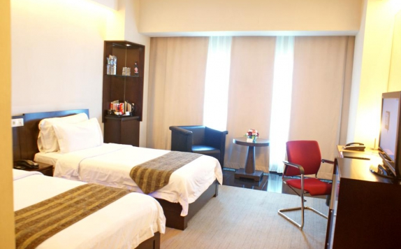 Guest Room Twin Bed di Manhattan Hotel