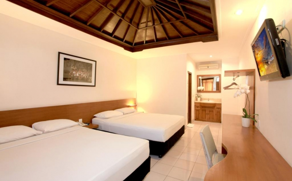 Bedroom di Matahari Bungalow