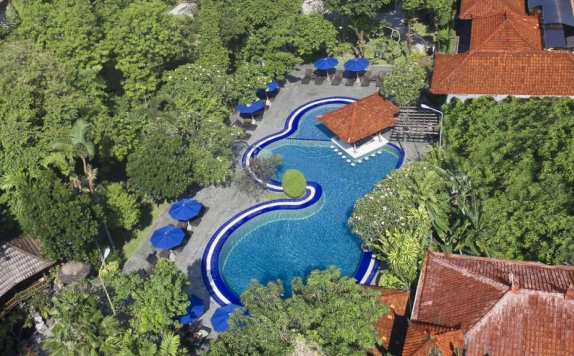 Swimming Pool di Matahari Bungalow