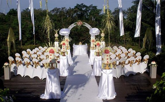 Wedding Venue di Maya Ubud Resort and Spa