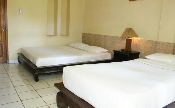 Guest Room twin bed di Melka Excelsior Hotel