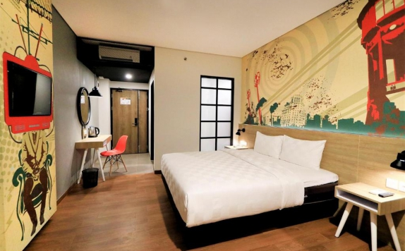 Bedroom di Meotel Jember by Dafam