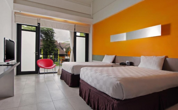 Bedroom di Mikie Holiday Resort & Hotel
