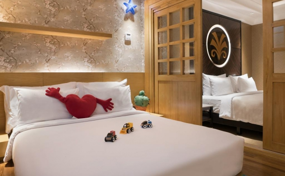 Guest room di Myko Hotel & Convention Center Makassar