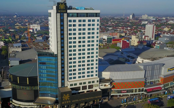 Top view di Myko Hotel & Convention Center Makassar