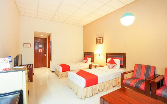 Bedroom di New Grand Park Hotel