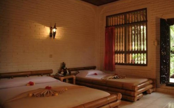 guest room twin bed di Nick'S Pension