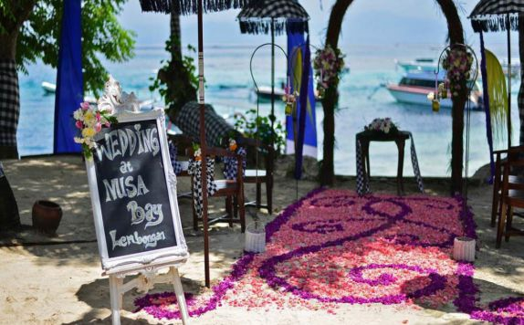 Wedding Facilities di Nusa Bay