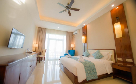 Guest room di Nusantara Diving Center Resort & Spa
