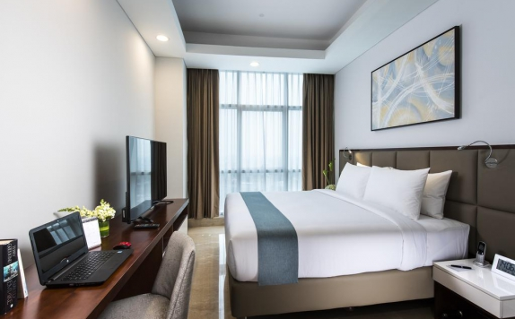 Guest Room di Oakwood Suites La Maison