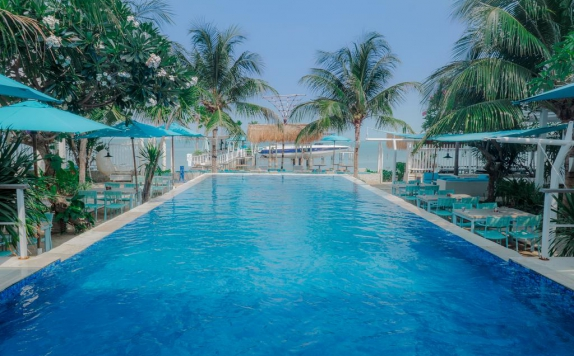 Swimming Pool di Oce-an View Residence Hotel