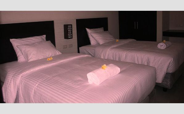 Room Twin Bed di Ommaya Hotel & Resort