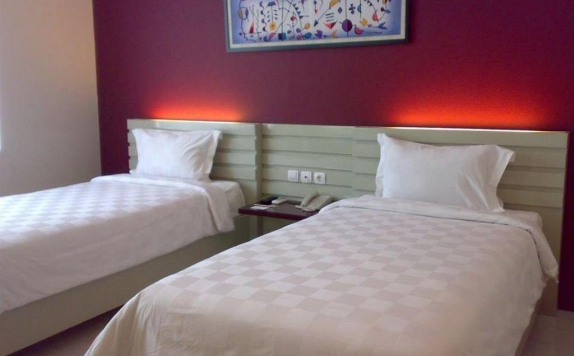 Guest room Twin Bed di Orlen Hotel
