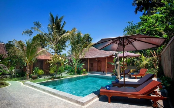 Swimming Pool di Pajar House Ubud