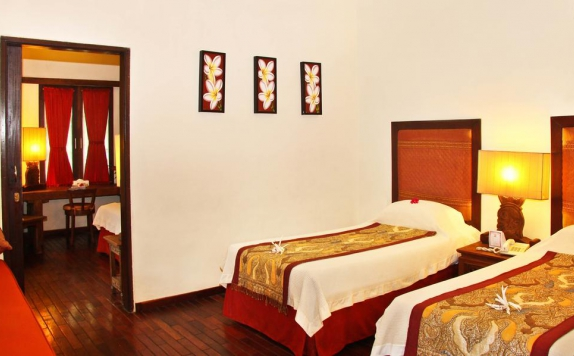 Guest room Twin Bed di Peneeda View Beach Hotel