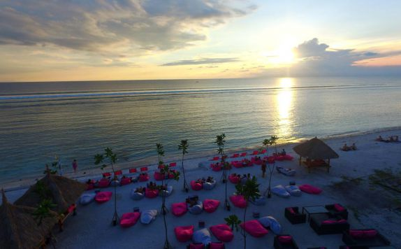 Private Beach di PinkCoco Gili Trawangan