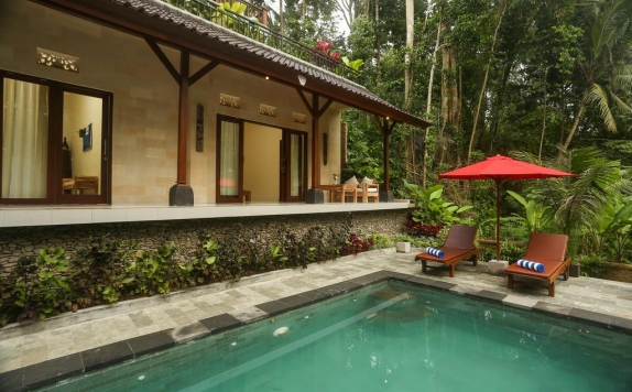 Outdoor Pool Hotel di Puri Payogan Villa