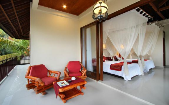 Twin Bed Room Hotel di Putri Ayu Cottage