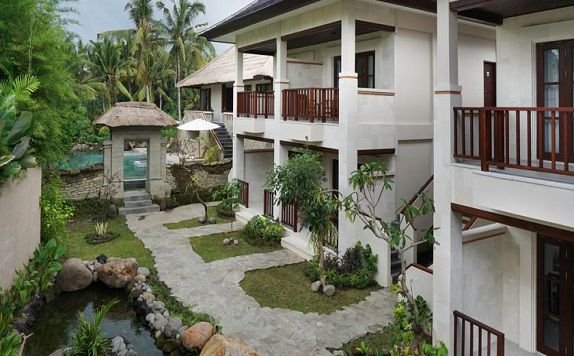 Aerial View di Radha Phala Resort and Spa