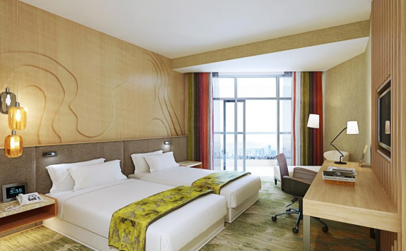 Guest room di Radisson Golf & Convention Center Batam