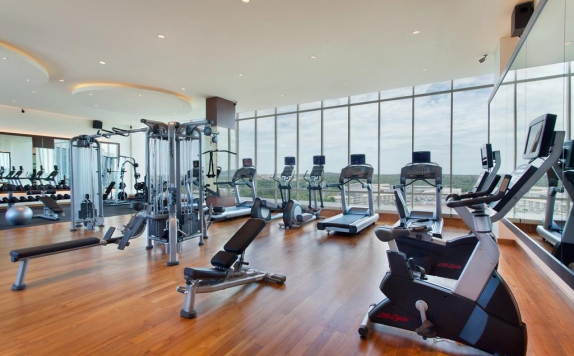 Gym di Radisson Golf & Convention Center Batam