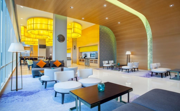 Lobby di Radisson Golf & Convention Center Batam
