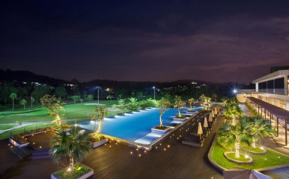 Swimming Pool di Radisson Golf & Convention Center Batam
