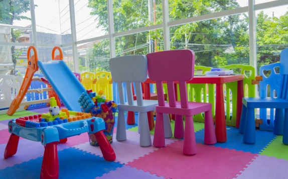 Kids Playground di Radja Art and Boutique Hotel