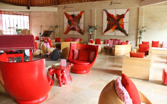 Interior di Rouge Bali - Lounge Bar, Villas & Spa
