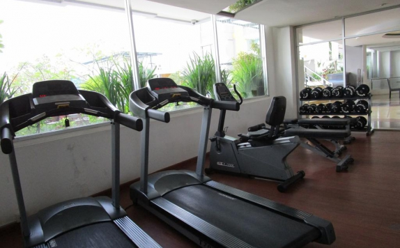 gym di Royal Suite Condotel
