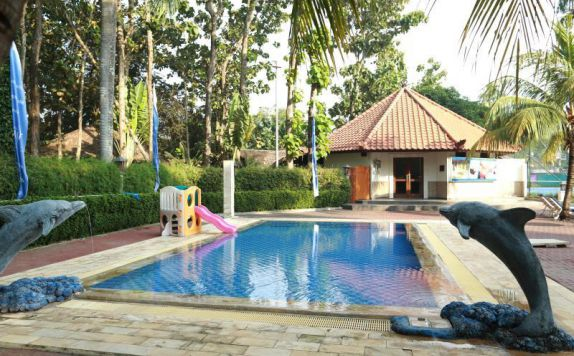 swimming pool di Sanghyang Indah Resort