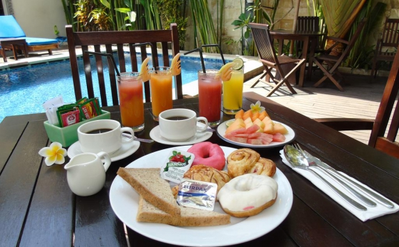 Food and beverage di Sari Villa Sanur Beach