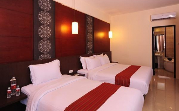 Guest room Twin Bed di Savali Hotel Padang