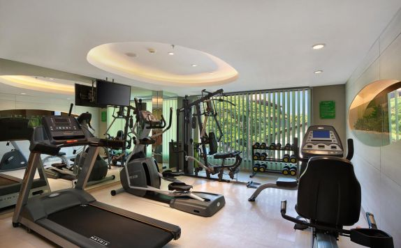 Fitnes Centre di SenS Hotel and Spa Conference Ubud Town Centre