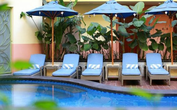 Pool di SenS Hotel and Spa Conference Ubud Town Centre
